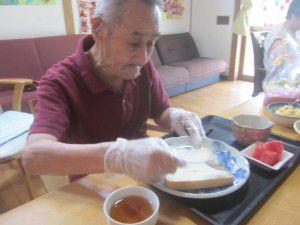20150711今回はサンドイッチ作りを行いました♪4
