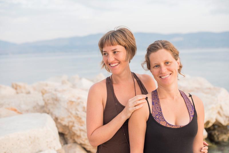 yogaresa kroatien augusti september 2018 anna asplund anna sunesson petra kalla yatra yogaresor