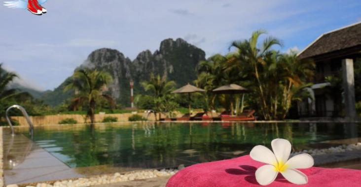寮國旺陽度假勝地 飽覽喀斯特地貌奇景 @YA !野旅行-玩樂全世界