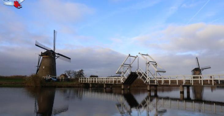 荷蘭人氣景點-小孩堤防 @YA 野旅行-陪伴您遨遊四海