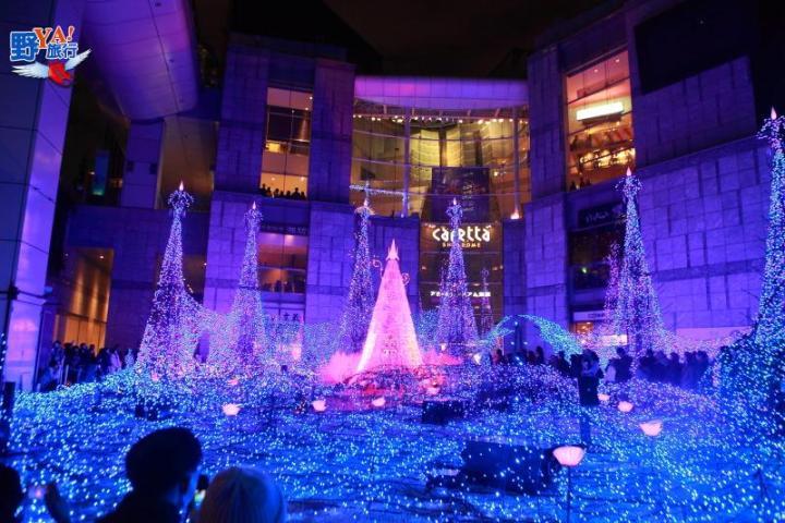東京都聖誕點燈-Caretta汐留 Illumination 2016 @YA !野旅行-吃喝玩樂全都錄