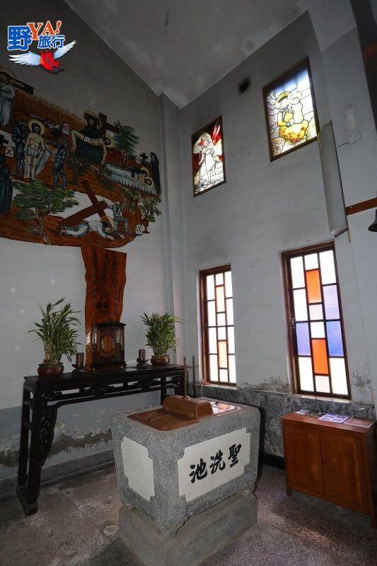 東台灣最特色的教堂-新城天主堂 @YA !野旅行-吃喝玩樂全都錄