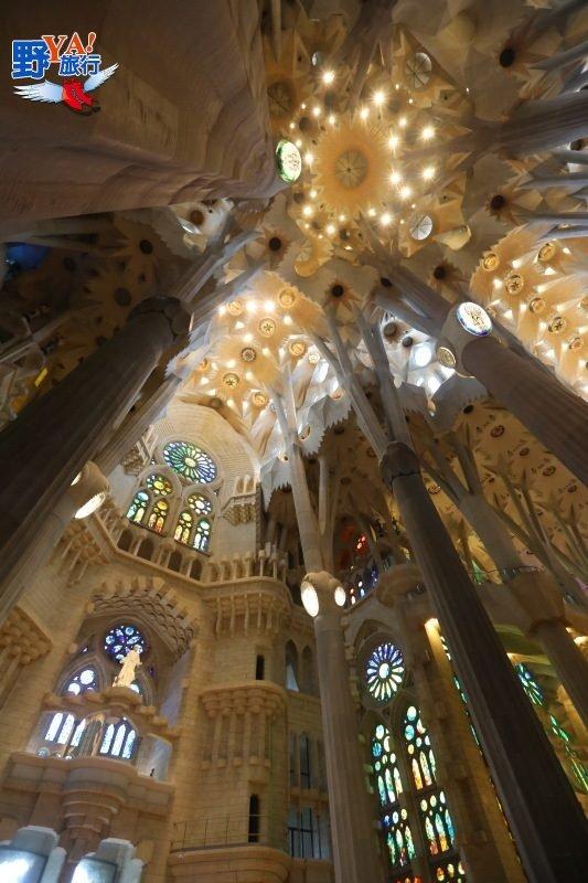 屬於上帝的建築La Sagrada Familia-巴塞隆納聖家堂 @YA !野旅行-吃喝玩樂全都錄