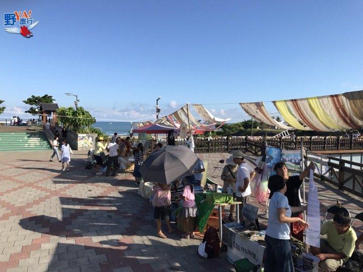 2017回藍-海是生活節-海市集熱鬧登場 @YA !野旅行-吃喝玩樂全都錄