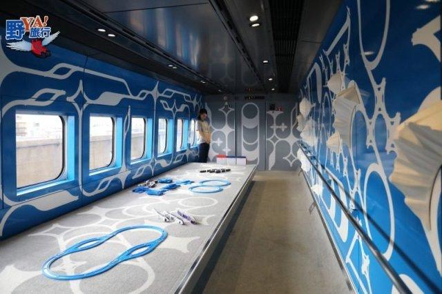 時速300的移動美術館 奔馳雪國的美麗風景 @YA !野旅行-吃喝玩樂全都錄