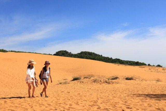 南越大漠風情,紅白沙丘飆車玩沙趣 @YA !野旅行-吃喝玩樂全都錄