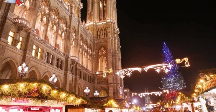 【維也納耶誕市集】瀰漫著華麗古典宮廷風 @YA 野旅行-陪伴您遨遊四海