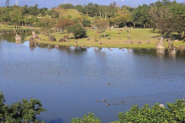 運動公園飽覽湖光山色 住特色民宿享受悠閒假期 @YA !野旅行-吃喝玩樂全都錄