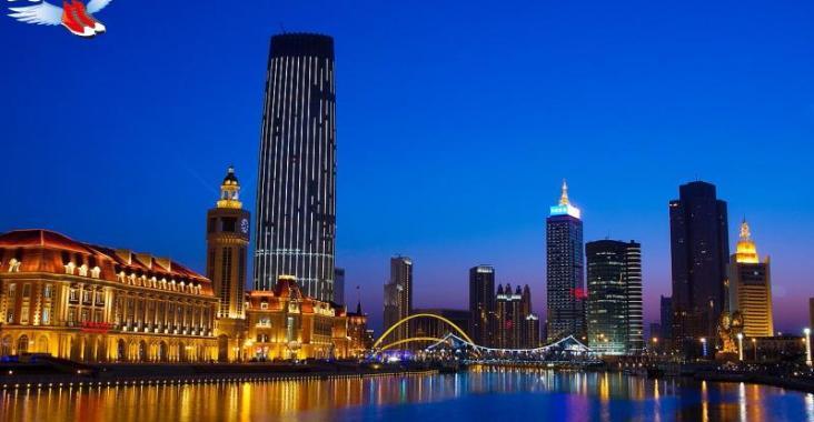 一橋一景越夜越美麗 浪漫爆表的天津海河夜景 @YA !野旅行-玩樂全世界