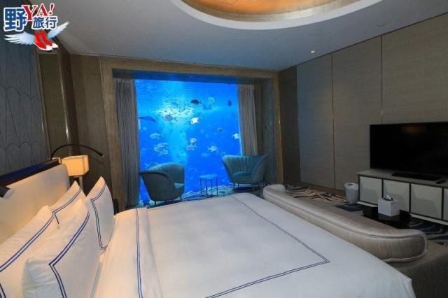 睡在水世界與魚共舞 海南亞特蘭提斯夢幻登場 @YA !野旅行-吃喝玩樂全都錄