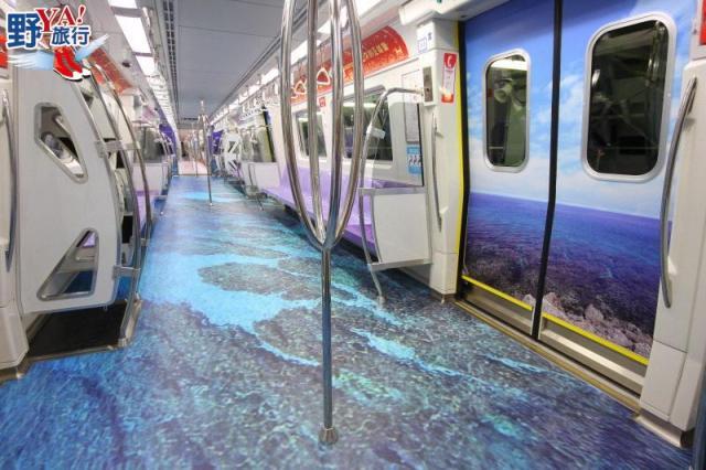 2018海灣旅遊年機捷彩繪列車3D環景正式啟動 @YA !野旅行-吃喝玩樂全都錄