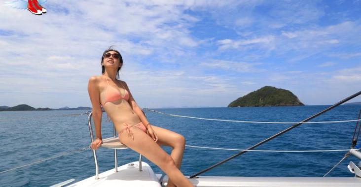 泰國 普吉 陽光沙灘比基尼 普吉度假勝地珊瑚島 @YA !野旅行-玩樂全世界