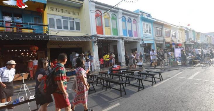 泰國|普吉 參拜泰南最大廟宇查龍寺 逛老街夜市享受普吉悠閒風情 @YA !野旅行-玩樂全世界