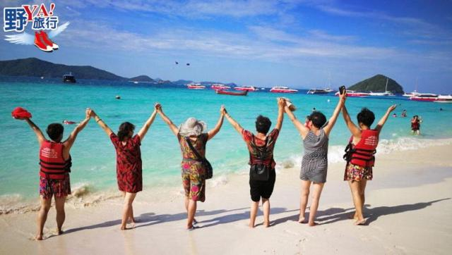 泰國 普吉 陽光沙灘比基尼 普吉度假勝地珊瑚島 @YA !野旅行-吃喝玩樂全都錄
