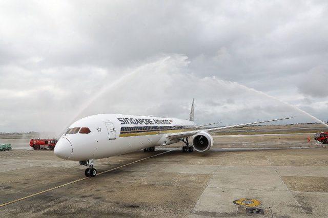 新加坡航空以全新波音787-10 Dreamliner飛航台北 @YA !野旅行-玩樂全世界