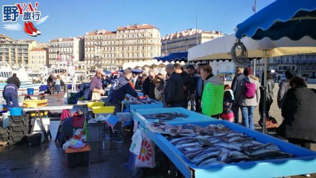 法國│馬賽 逛市集品嚐馬賽魚湯 體驗冬日地中海的慵懶氛圍 @YA !野旅行-吃喝玩樂全都錄