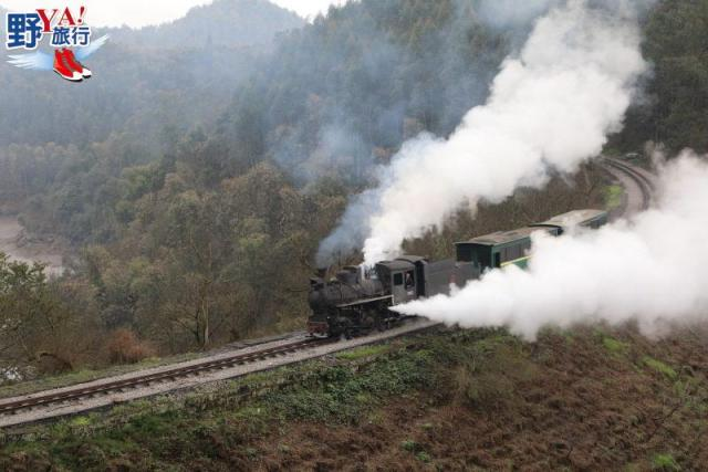 中國 四川 陽春三月花海小火車 工業革命時代的活化石 @YA !野旅行-吃喝玩樂全都錄