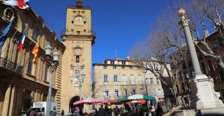 法國|艾克斯 Aix-en-Provence 南法噴泉之都 @YA 野旅行-陪伴您遨遊四海