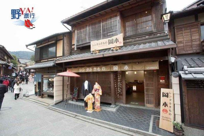 京都和服觀光五大IG熱點 達人推薦岡本和服最貼心 @YA 野旅行-陪伴您遨遊四海
