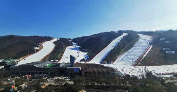 搭乘泰航冬戀韓國 洪川大明百玩地度假村滑雪會上癮 @YA 野旅行-陪伴您遨遊四海