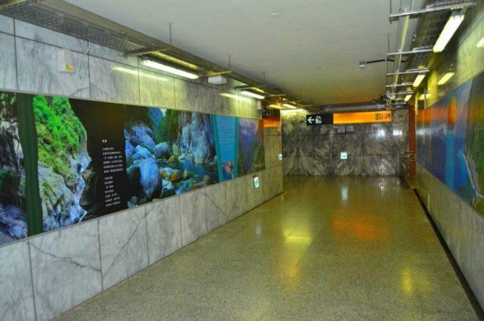 下車就看見太魯閣國家公園美景  新城(太魯閣)車站變身太魯閣展示館 @YA !野旅行-玩樂全世界