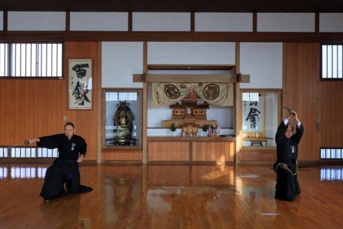 日本山形熊野居合神社體驗居合道一刀流絕技 @YA !野旅行-吃喝玩樂全都錄