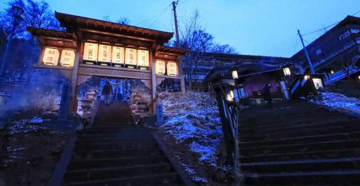 開湯1900多年 藏王溫泉深山莊高見屋的華麗饗宴 @YA 野旅行-陪伴您遨遊四海