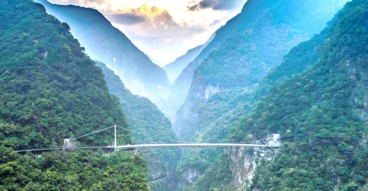 布洛灣山月吊橋完工 太管處預計下半年開放 @YA !野旅行-玩樂全世界