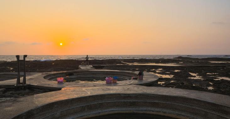 蔚藍大海洋溢希臘風情 綠島好望角民宿體驗潛水樂趣 @YA !野旅行-玩樂全世界