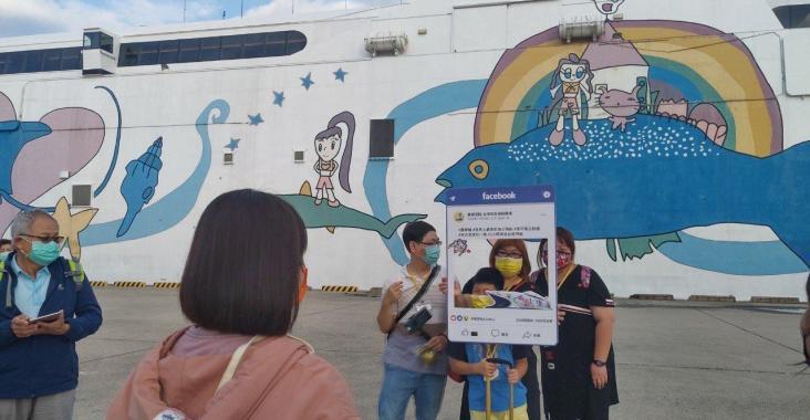 「麗娜輪」啟航搶攻國旅跳島旅行大餅  今日試營運開啟台南澎湖海上公路 @YA !野旅行-吃喝玩樂全都錄