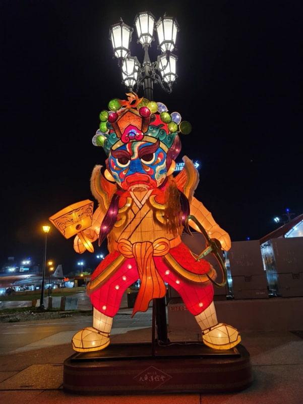 花蓮太平洋燈會  14米傳統生肖牛主燈迎客過好年 @YA 野旅行-陪伴您遨遊四海