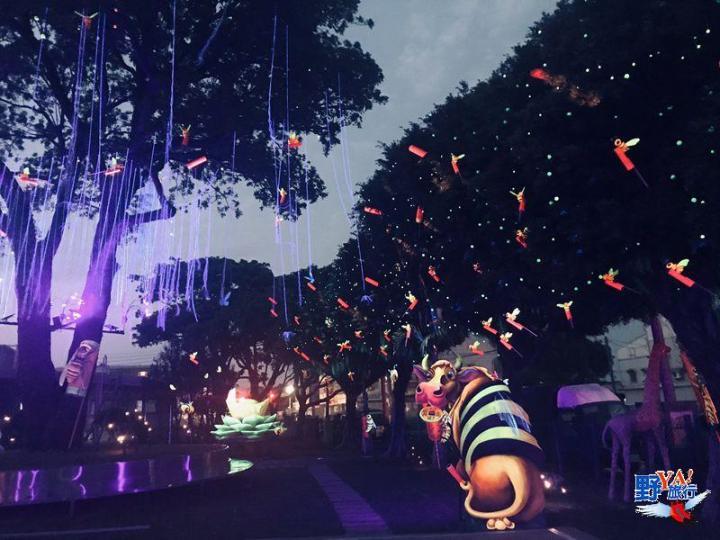 228連假來台南 賞「花」、「燈」慶元宵《木棉花、向日葵、百日草、波斯菊、蜀葵相繼盛開》 @YA !野旅行-吃喝玩樂全都錄