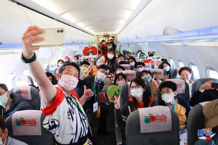 長榮航空與日本青森縣廳合作類出國專案航班松機啟航 @YA !野旅行-玩樂全世界