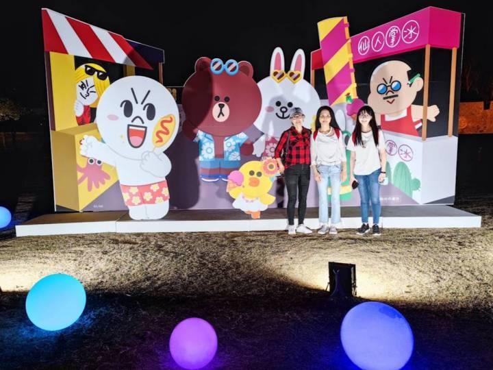 2021澎湖花火節盛大開幕,LINE十周年與用戶一起啟程TO THE NEXT @YA !野旅行-吃喝玩樂全都錄