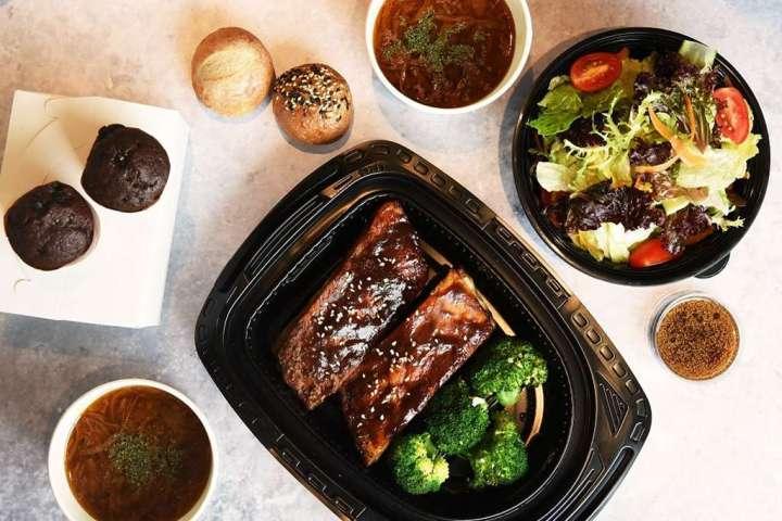 新板希爾頓酒店中西餐廳外賣宅食自取價180元起 @YA !野旅行-吃喝玩樂全都錄