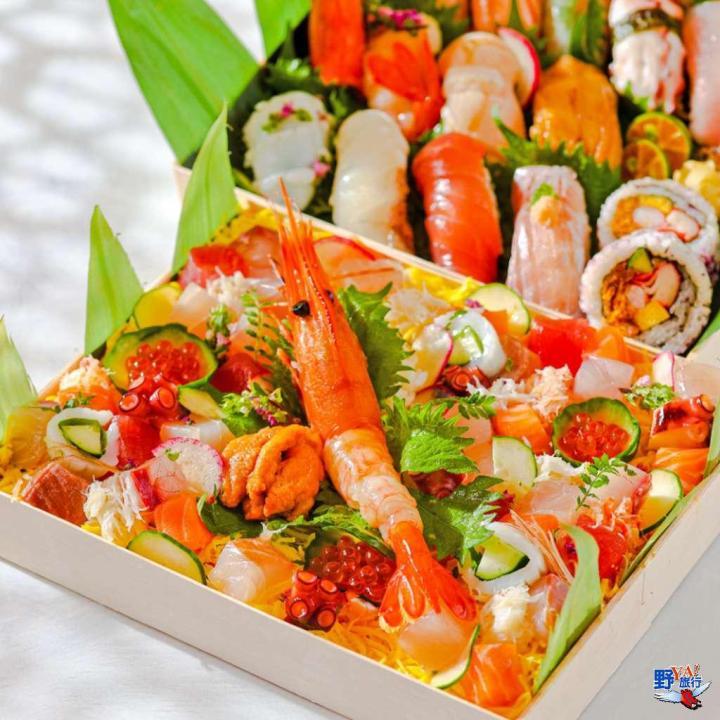 五星級壽司,每貫只要55元  「晶華美食到你家Take Regent Home」海鮮盛合快閃優惠 @YA !野旅行-吃喝玩樂全都錄