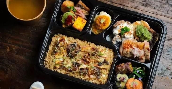 高檔日料燈燈庵推歡心「日本會席料理便當」 @YA !野旅行-吃喝玩樂全都錄