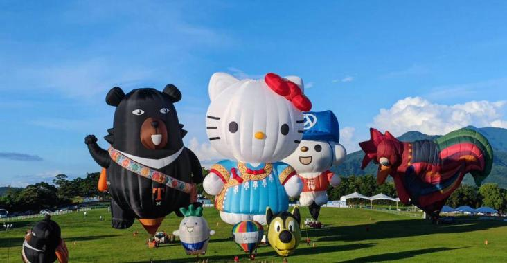 2021臺灣國際熱氣球嘉年華8/14回歸鹿野高台 熱氣球國家隊全新陣容!柯文哲率北市府乘「熊讚」首飛 @YA !野旅行-吃喝玩樂全都錄