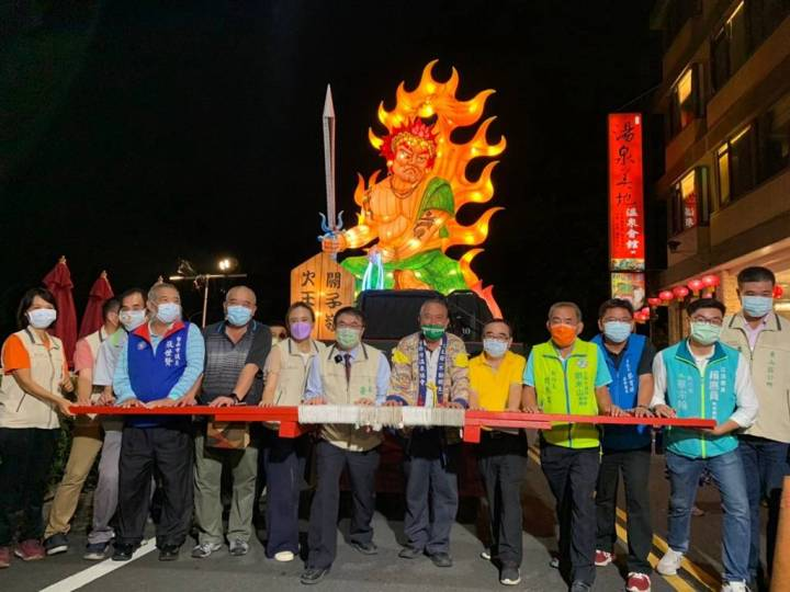 2021關子嶺溫泉美食節今(18)日開跑 眾人巡繞關嶺一同祈福 @YA !野旅行-吃喝玩樂全都錄