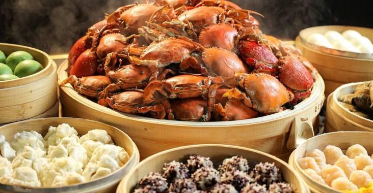 蝦兵蟹將上餐檯 歡慶晶華栢麗廳重磅回歸 @YA !野旅行-吃喝玩樂全都錄