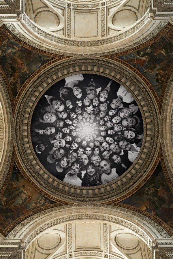 Artist JR turns the Panthèon in Paris INSIDE OUT | Yatzer