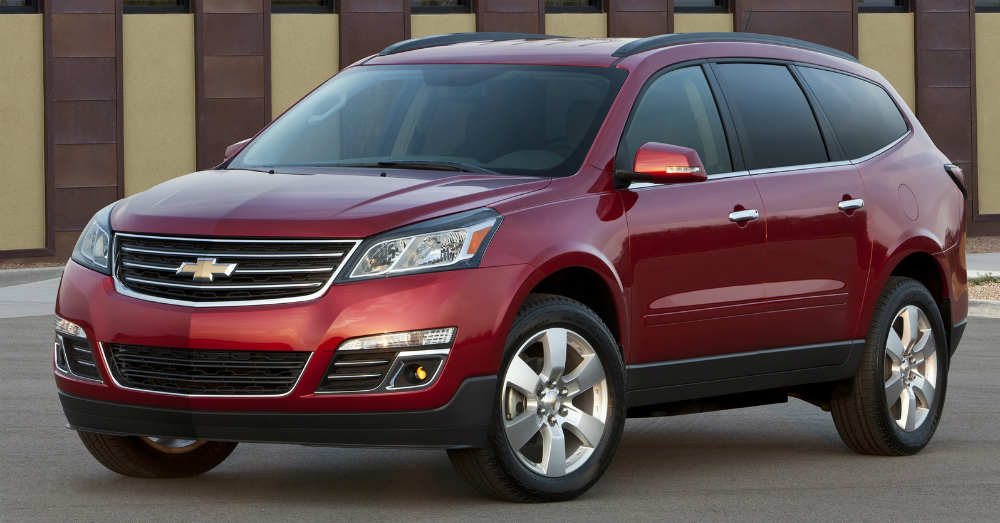 2016 Chevrolet Traverse: A Blend of the Best