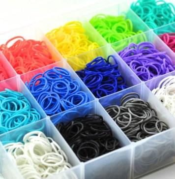 Резинки для плетения браслетов: делаем правильный выбор