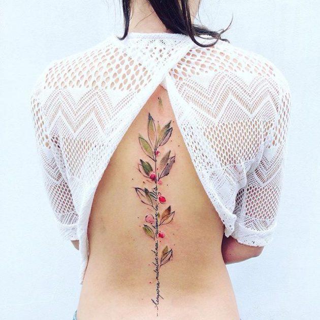 17 акварельных татуировок, способных восхитить любого