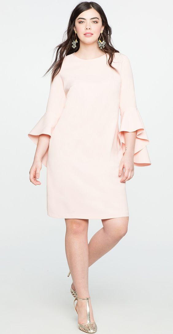 jetty 2019, photo of a large-size plain dress