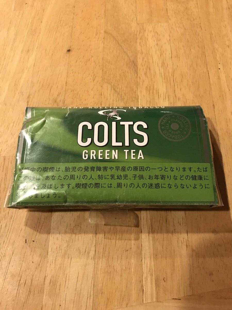 ヴェポライザーオススメシャグ COLTS GREEN TEA がっつりレビュー