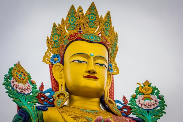 Close up of Maitreya