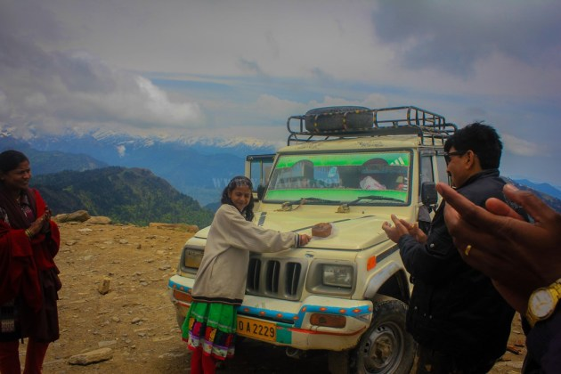 Spreading smile at Chanshal Pass