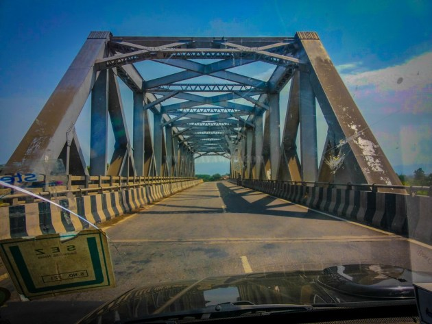 Bridge at Satluj Kanal before Kiratpur sahib