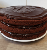 YayLo - Vegan chocolate cake
